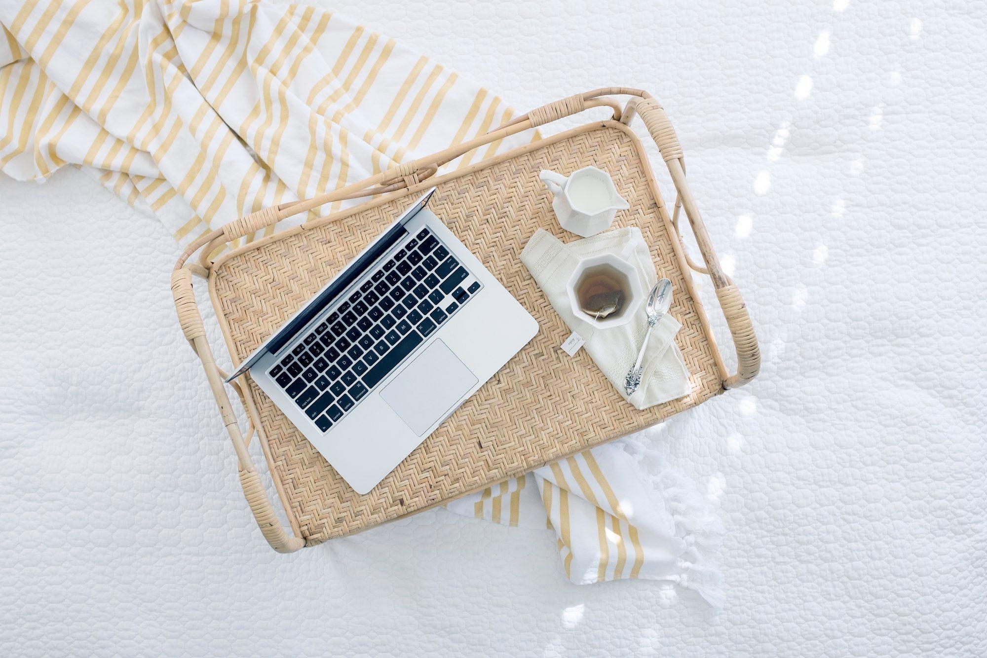 macbook dienblad inspiratie